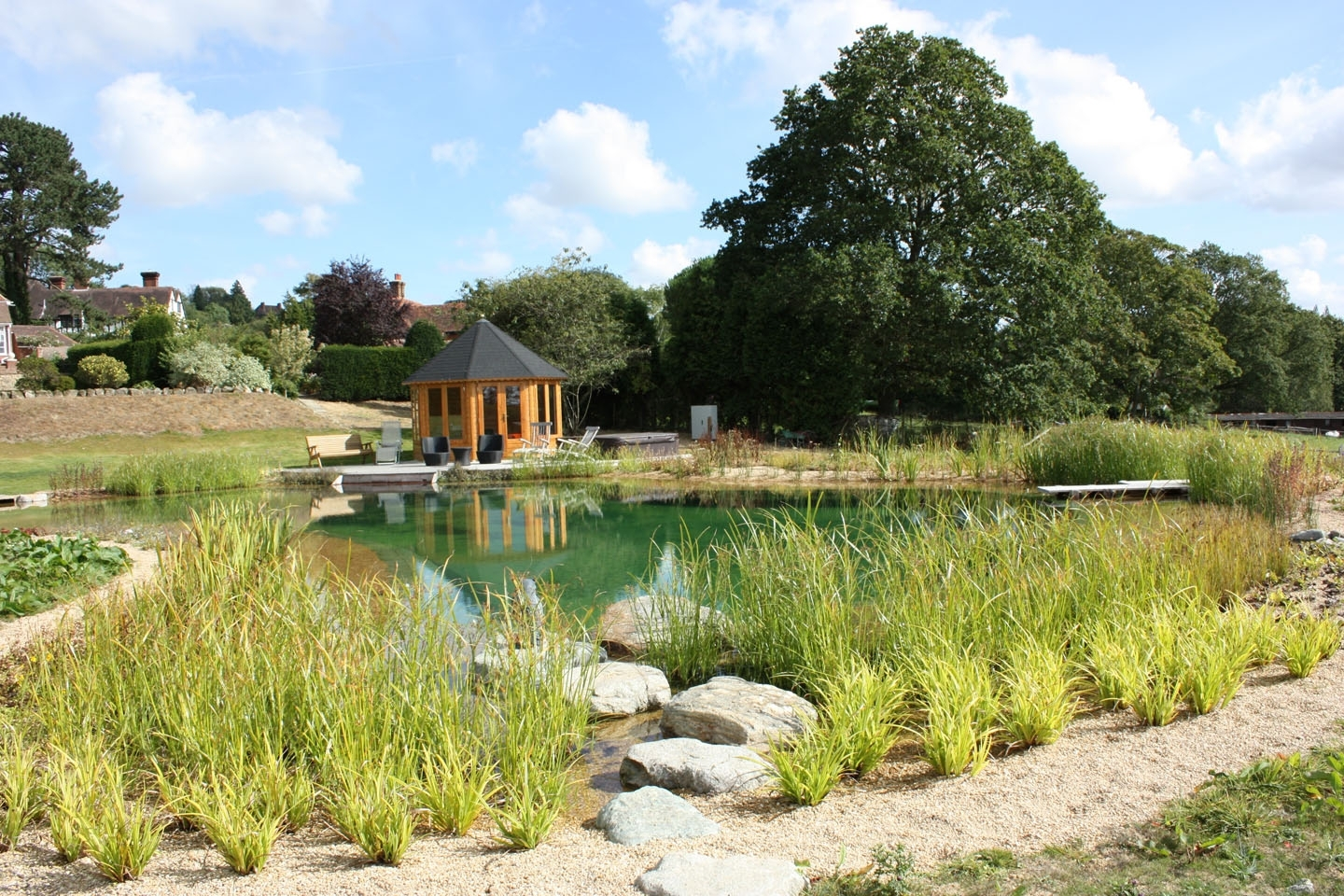 Gartenart | Portfolio | Swimming Pond, Kent