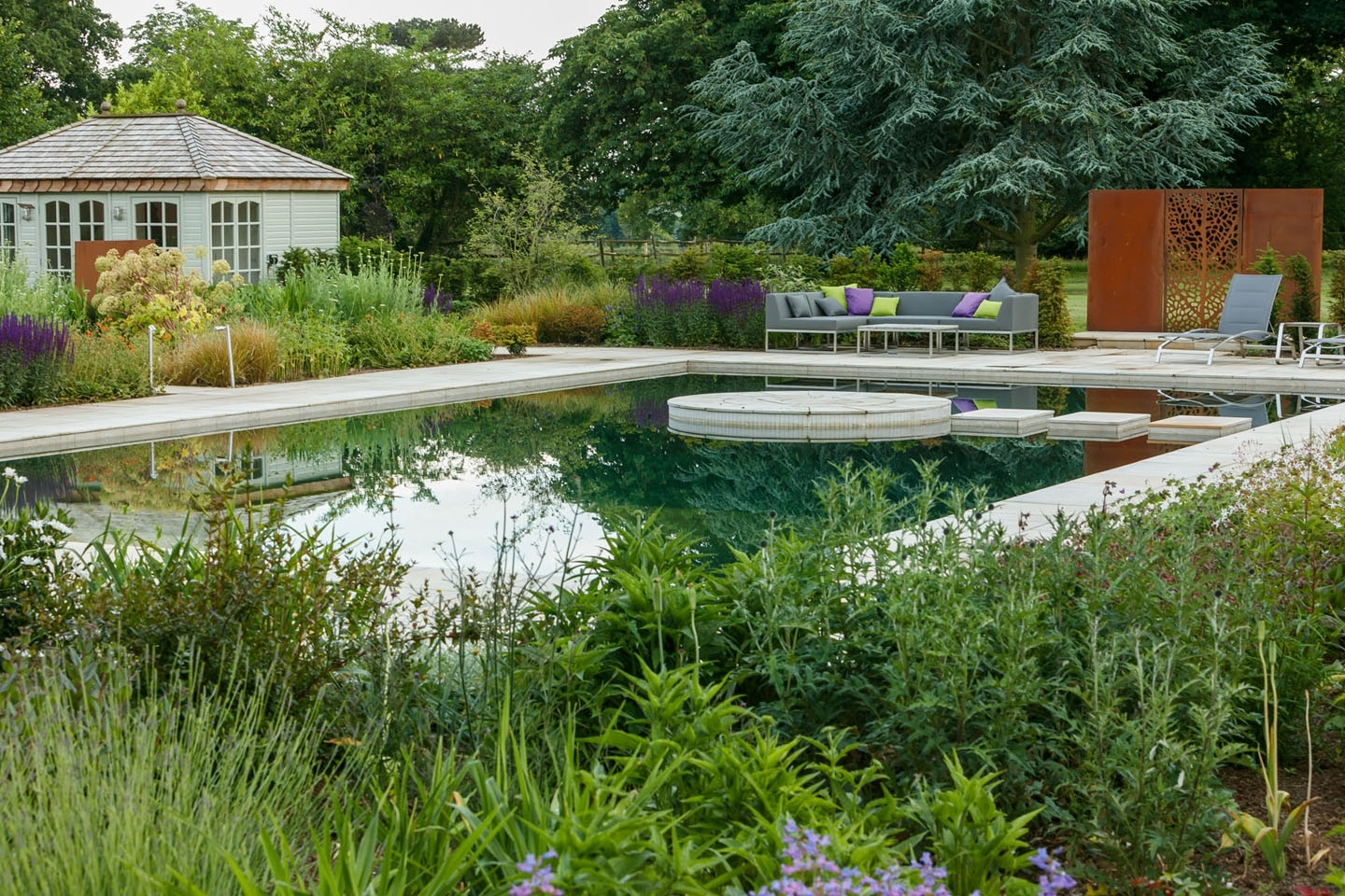 Gartenart | Portfolio | Natural pool, Hertfordshire